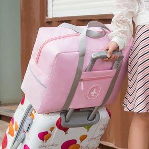 Handbags - NEW Oxford Cloth Travel Luggage Bag (Pink)